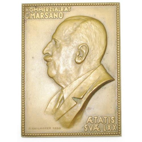 Österreich I. Republik, KOMMERZIALRAT C. MARSANO