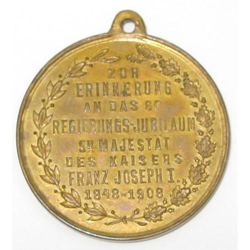 Kaiser Franz Josef I., 60 REGIERUNGS- JUBILÄUM SEINER MAJESTÄT 1848-1908