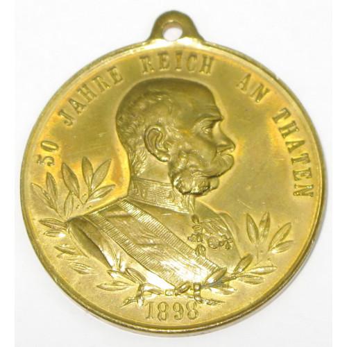 Kaiser Franz Josef I., 50 REGIERUNGS- JUBILÄUM SEINER MAJESTÄT 1848-1898