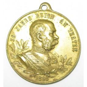 Kaiser Franz Josef I., 50. REGIERUNGS-JUBILÄUM SEINER MAJESTÄT 1848-1898