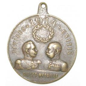 VIRIBUS UNITIS SIEGES-MEDAILLE 1914