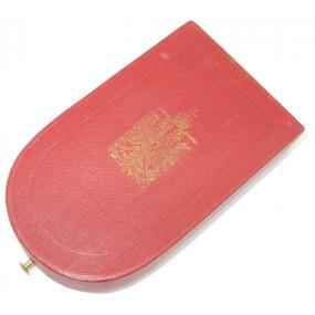 k.u.k. Monarchie, Etui zur Bronzenen Militärverdienstmedaille Signum Laudis FJI.