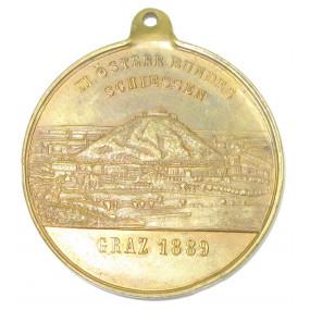 3. österreichisches Bundesschießen in Graz 1.-11. August 1889