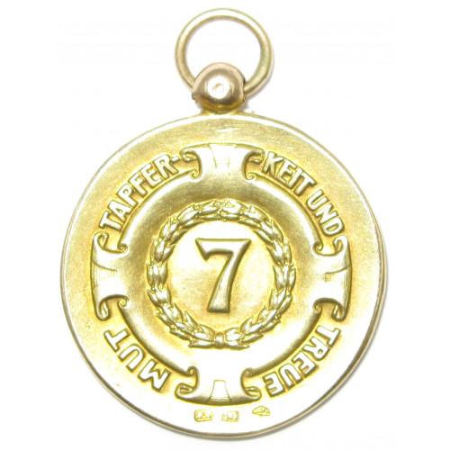 IR 7 Khevenhüller 7er Bund Mut – Tapferkeit – Treue 4. September 1927