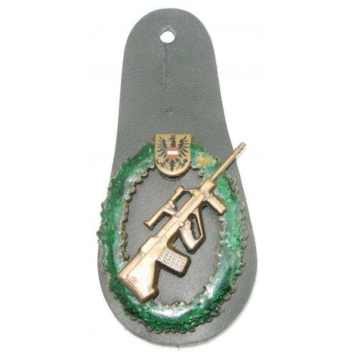 Österreichischen Bundesheeres Leistungsabzeichen für Schießen in Bronze