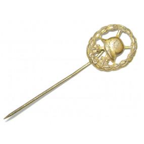 1. Weltkrieg Verwundetenabzeichen in Gold Miniatur
