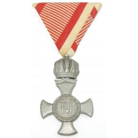 Österreich / K.u.K. Monarchie, Eisernes Verdienstkreuz mit der Krone