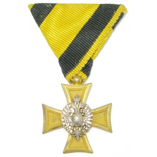 Österreich / K.u.K. Monarchie, Militärdienstzeichen für Offiziere für 25 Jahre