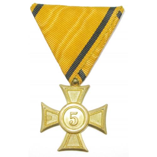 Österreich 1. Republik, Militärdienstzeichen für 5 Jahre