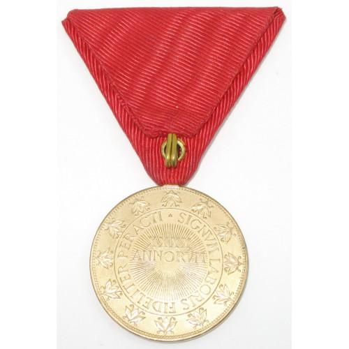 Ehrenmedaille für 40 Jahre treue Dienste