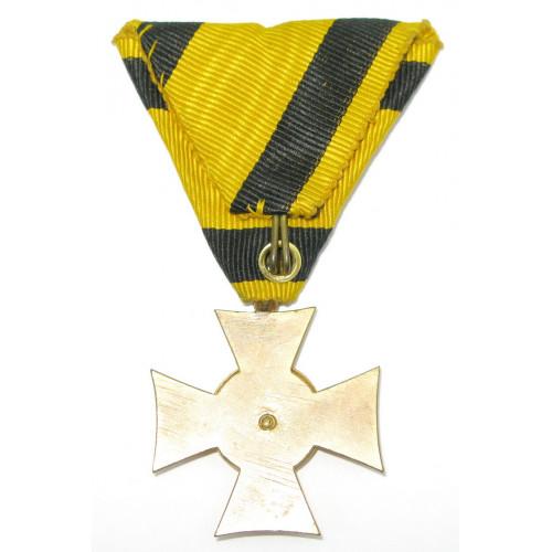 Österreich / K.u.K. Monarchie, Militärdienstzeichen für Unteroffiziere u. Mannschaften für 12 Jahre