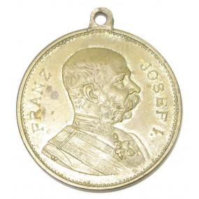 FRANZ JOSEF I. ENTHÜLLUNG KAISERIN ELISABETH DENKMAL IN SALZBURG 1901