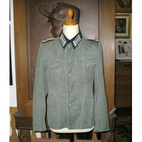 Wehrmacht Drillichjacke für einen Oberstleutnant der Pioniere
