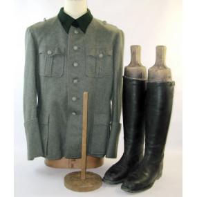 Wehrmacht Feldbluse für einen Offizier der Feldpolizei