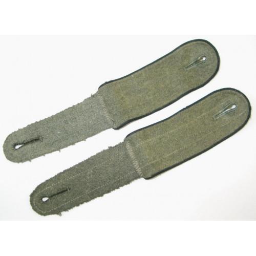 WH-Heer, Paar Schulterklappen M 44 für Mannschaften der  Pioniere