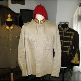 k.u.k Sommerbluse und Fez eines Kadett-Feldwebels des bosnisch-hercegovinischen Infanterie Regiments Nr. 1