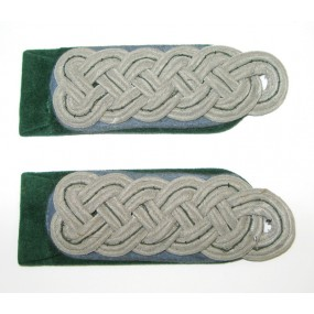 Wehrmacht Heer Paar Schulterstücke für einen Beamten