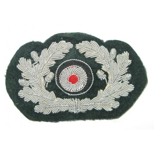 Wehrmacht Schirmmützen-Eichenlaubkranz für Offiziere