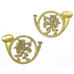 Österreichische Heimwehr Kragenabzeichen-Paar