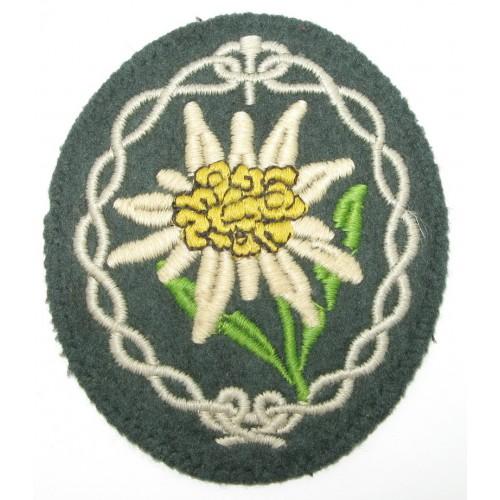 Wehrmacht Heer Ärmelabzeichen für Gebirgsjäger