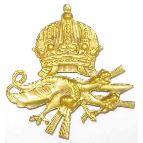 k. u. k. Kragenabzeichen -  MG - Einheit