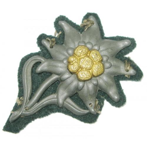 Wehrmacht Heer Edelweiss für die Bergmütze der Gebirgsjäger
