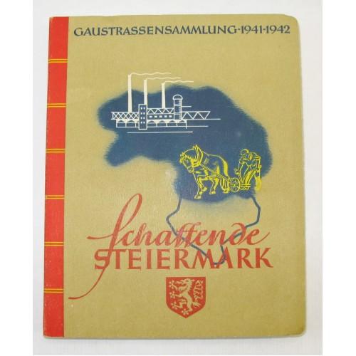 WHW Gaustraßensammlung 1941-1942 Schaffende Steiermark