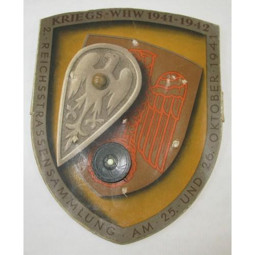 KRIEGS WHW 1941 - 1942 Germanische Schilde